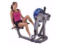 Fluid xt upper body arm bike a 2 in 1 exercise machine