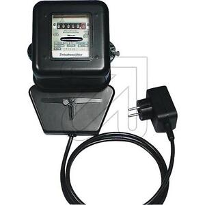 Zwischenzähler  Stromzähler  Elektrozähler mit Stecker