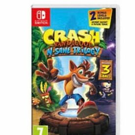 Crash bandicoot (switch)