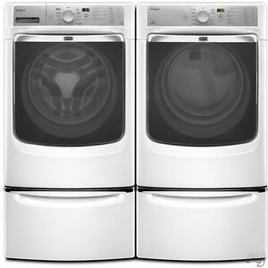 CLEARANCE SALE OF BOX PACK MAYTAG, WHIRLPOOL WASHER DRYER SETS
