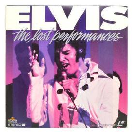 Elvis Presley Laserdiscs
