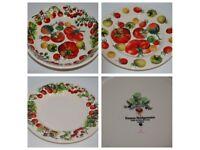 Emma Bridgewater Tomato - Pasta Bowl & Two Plates