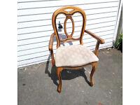 satinwood chair