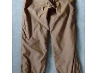 women's ski trousers hardly used medium