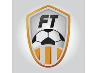 FootballTracker Looking for All Football Players