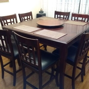 Solid Cherry Wood Dining Table & Chairs TOP!