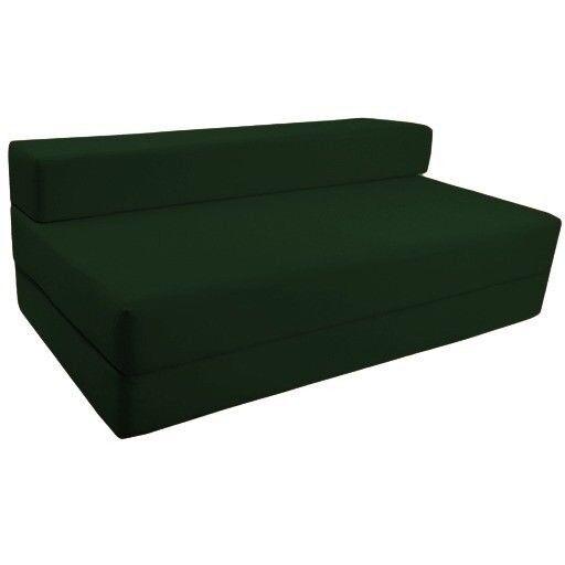 Black Sleeper Chair Folding Foam Fold Out Double Bed Z Studio Guest Foldable