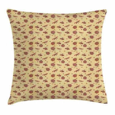 Ladybug Throw Pillow Cases Cushion Covers Home Decor 8 Sizes
