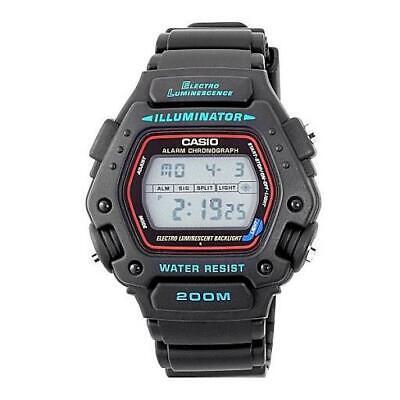 Casio Collection DW-290-1VSD Gents Quartz Digital Watch Authorised UK Seller