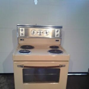Vintage Yellow/Gold stove