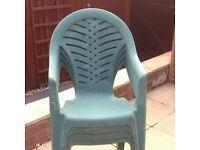 garden chairs green
