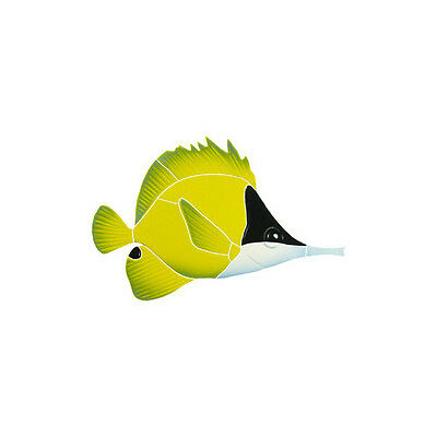 Long Nosed Butterfly Fish Ceramic Swimming Pool Mosaic