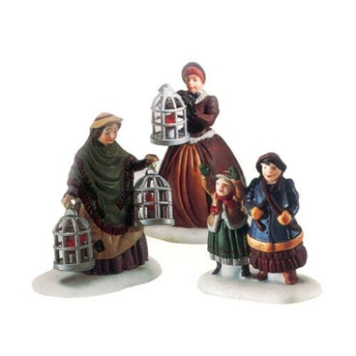 Dept 56 Dickens Village ~ The Bird Seller ~ Mint In Box 58033