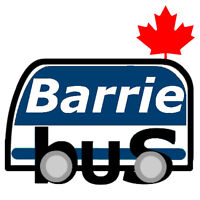 "Free Bus Android App ""All That Transit, Barrie"""