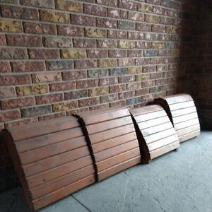 Muskoka chair footstools
