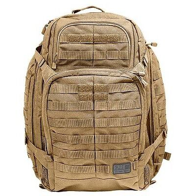 Brand New 5.11 Rush 72 Backpack in FDR Tan UK Seller Military 3 Day Pack