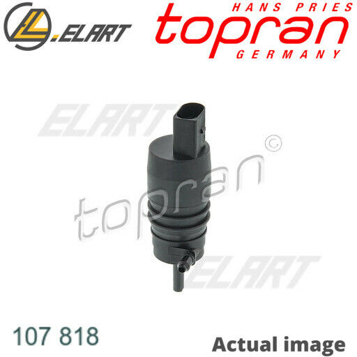 Water Pump,window cleaning for BMW,VW,SEAT,MERCEDES-BENZ,AUDI TOPRAN 107 818