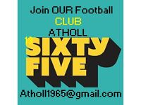 Atholl 1965 FC players needed for 2017! #London #Mens #Saturday #Football