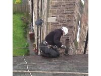 Roofing - Painter - Rope access - Edinburgh Gutter Cleaning Company