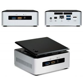 intel nuc mini pc intel i3 250 gb ssd 12gbram wifi 500gb hdd