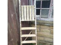 Wooden Step Ladders - Small