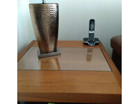 Cabinet, Coffee Table and Lamp Table (Harveys)