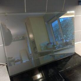 De Dietrich lift up oven / microwave door glass panel
