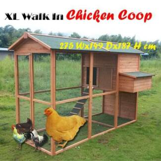 XL wooden chicken coop nesting box Riverwood Canterbury Area Preview