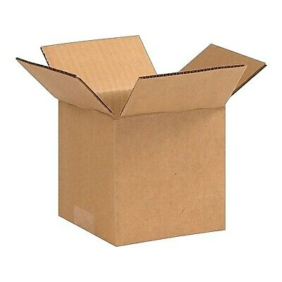 50 - 5 X 5 X 5 Corrugated Shipping Boxes Packing Mailing Cartons Cardboard Box