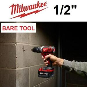 NEW MILWAUKEE M18 HAMMER DRILL 2607-20 226830196 BARE TOOL ONLY