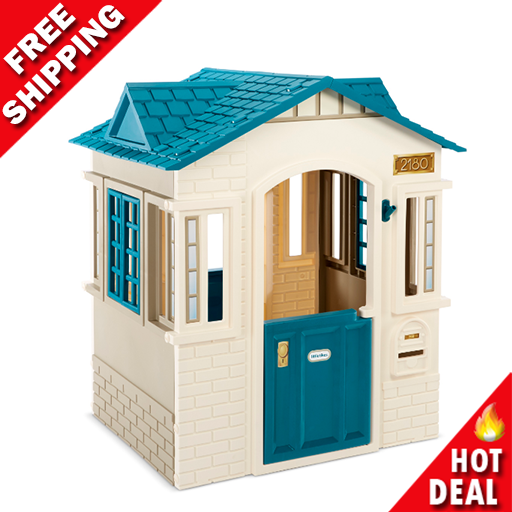 Playhouse Portable Outdoor Cottage Children Indoor Sturdy To