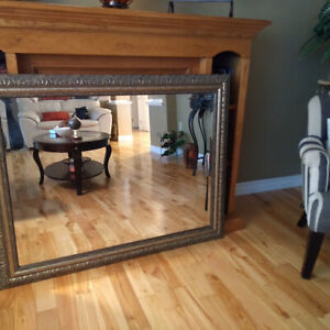 Large Mirror (3 x 4 ft) in excellent condition