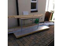 1nr sheet of kingspan insulation 80mm thick - 8x4 sheet