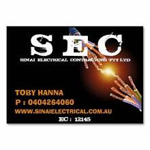 Sinai Electrical Contractors Pty Ltd Redcliffe Belmont Area Preview