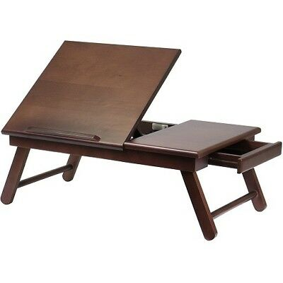 Wooden Tray with Drawer Book Stand Folding Easel Wood Holder Sketch Reader