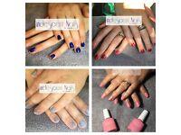 Gel polish for hands £10