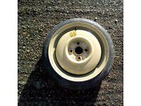 mazda demio spare wheel