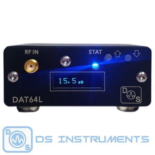 Programmable RF Step Attenuator - 0 to 63dB - 6GHz - Display & USB