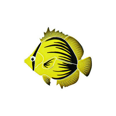 Spiked Butterfly Fish Ceramic Swimming Pool Mosaic