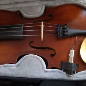 Violin German engineered