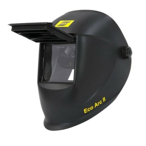 ESAB Eco Arc II, Flip Up Welding Helmet, 110 x 90mm, Welding Mask, TIG, MIG, MMA