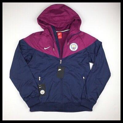 b1c84af0d Nike Manchester City Windrunner Mens Soccer Jacket Navy 886821-410 NWT MSRP   100