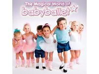 babyballet® teacher wanted for cover work in Bournemouth or Lymington! Excellent rates of pay!