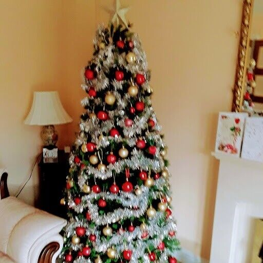 Tall Christmas Tree Decorating Ideas.6ft Tall Christmas Tree With Decorations In Denmead Hampshire Gumtree