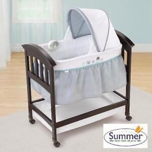 NEW* SUMMER INFANTS WOOD BASSINET TURTLE TALES WOOD BASSINET 109594636