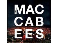 Maccabees Tickets x 2 - Saturday 1st July