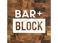 Front of House / Waiting Staff - Bar and Block Kings Cross - New Site Opening
