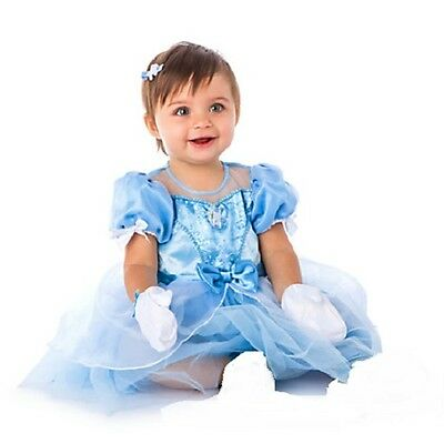 CINDERELLA~Baby~Costume~DRESS+GLOVES~Infant~Snap Bottom~NWT~Disney Store~2015