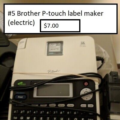 Brother P-touch Pt-2610 Label Thermal Printer