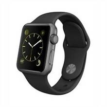 Apple Watch 38mm Space Grey Al. Case with Sport Band BlK UNOPENED Maryborough Fraser Coast Preview